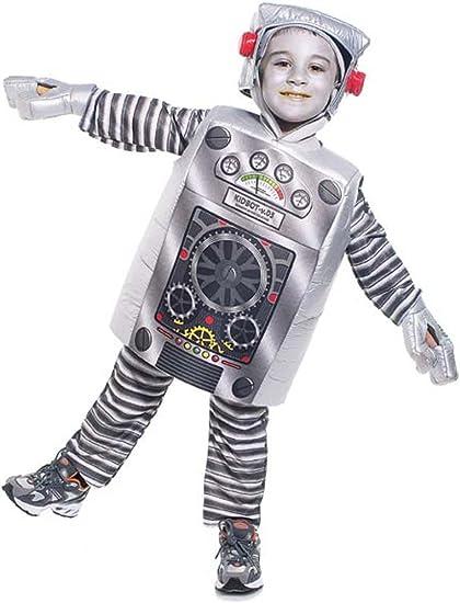 Infantil Disfraz de infantil con forma de robot (Tamaño: 2 – 4T ...