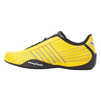 Buy Adidas Goodyear Race LEA Kid's Shoe, YellowBlackWhite