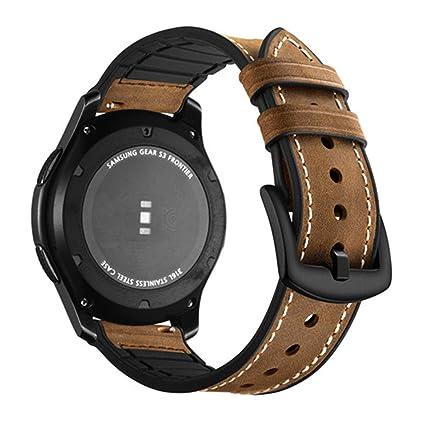 Amazon.com: Kaygosutla Leather Strap for Gear S3 Frontier ...