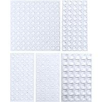 Sanggi Rubberen buffer, zelfklevend, 290 stuks, elastisch buffer, rubberen voetjes, deurbuffer, beschermbuffer…