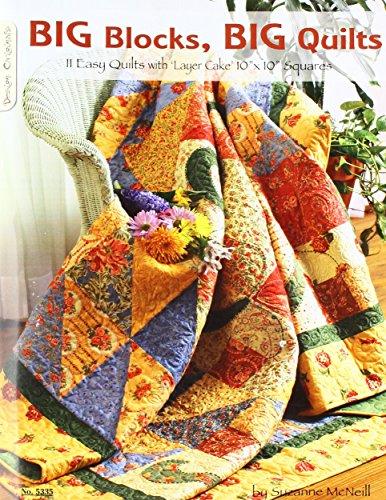 Design Originals Book, Big Blocks, Big Quilts