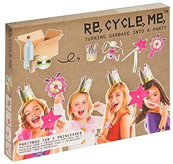 Re Cycle Me Me - Recycleme defg1410 Manualidades Diversión Party Caja Princesa para 5 Modelos: Amazon.es: Juguetes y juegos