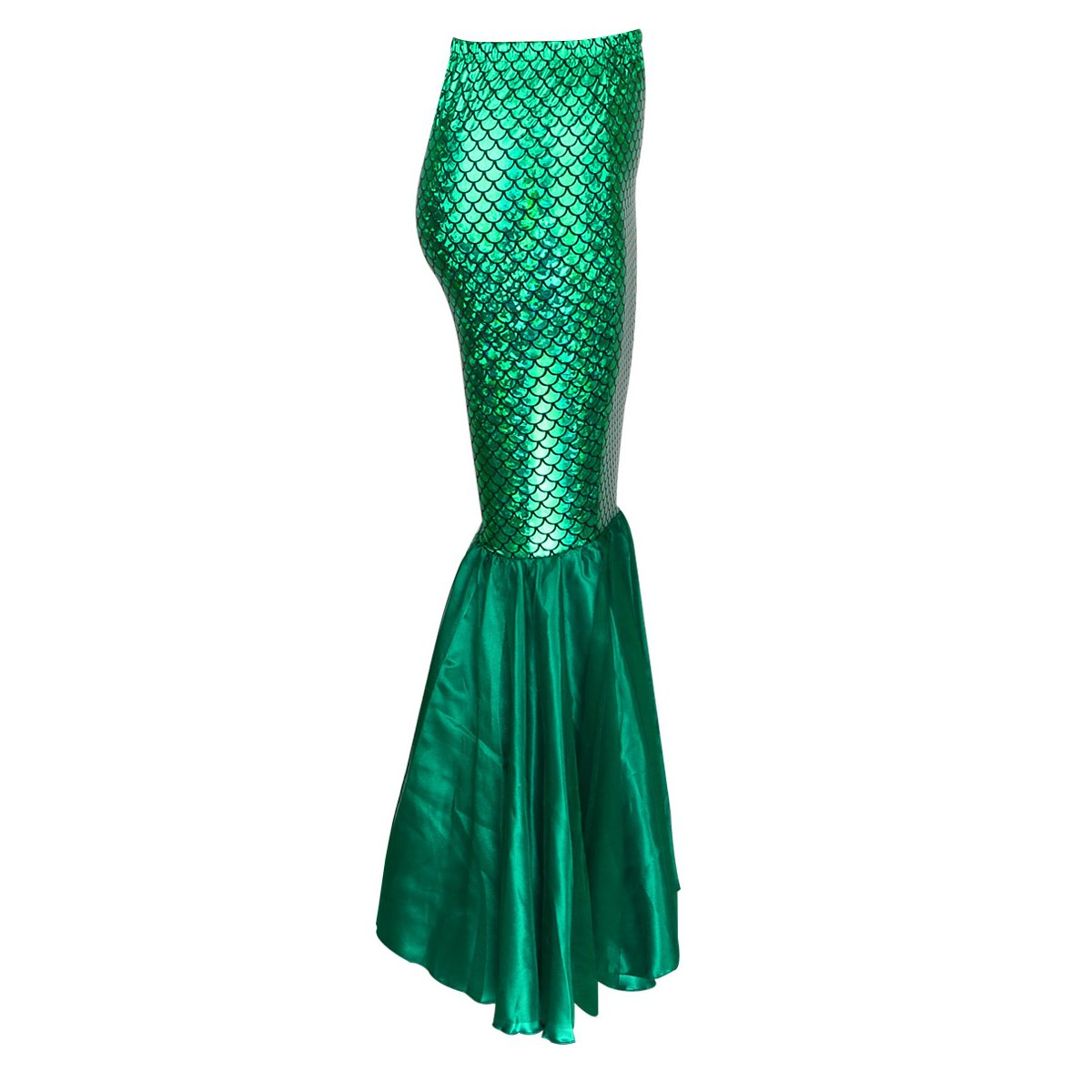 JNTworld Sexy Green Mermaid Ladies Dress Womens Adults Costume Outfit for Party,S,Green: Amazon.co.uk: Clothing