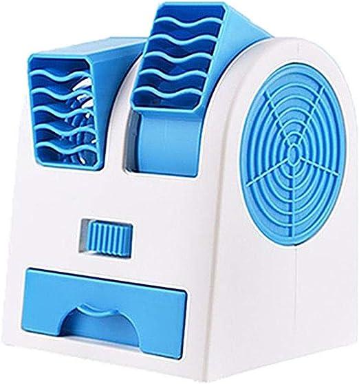 Kylewo Ventilador USB Mini Ventilador de Escritorio Humidificador ...