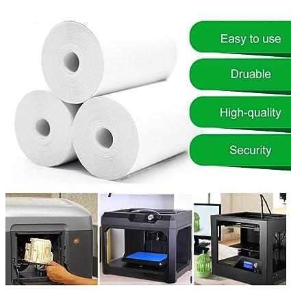 5 rollos de papel imprimible para pegatinas, papel térmico ...