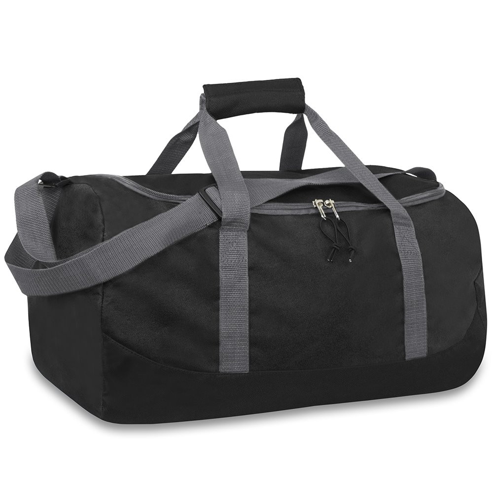 Travel LuggageGym Sports School Adjustable Carry Strap Men /& Women Duffel Bag Lightweight Foldable