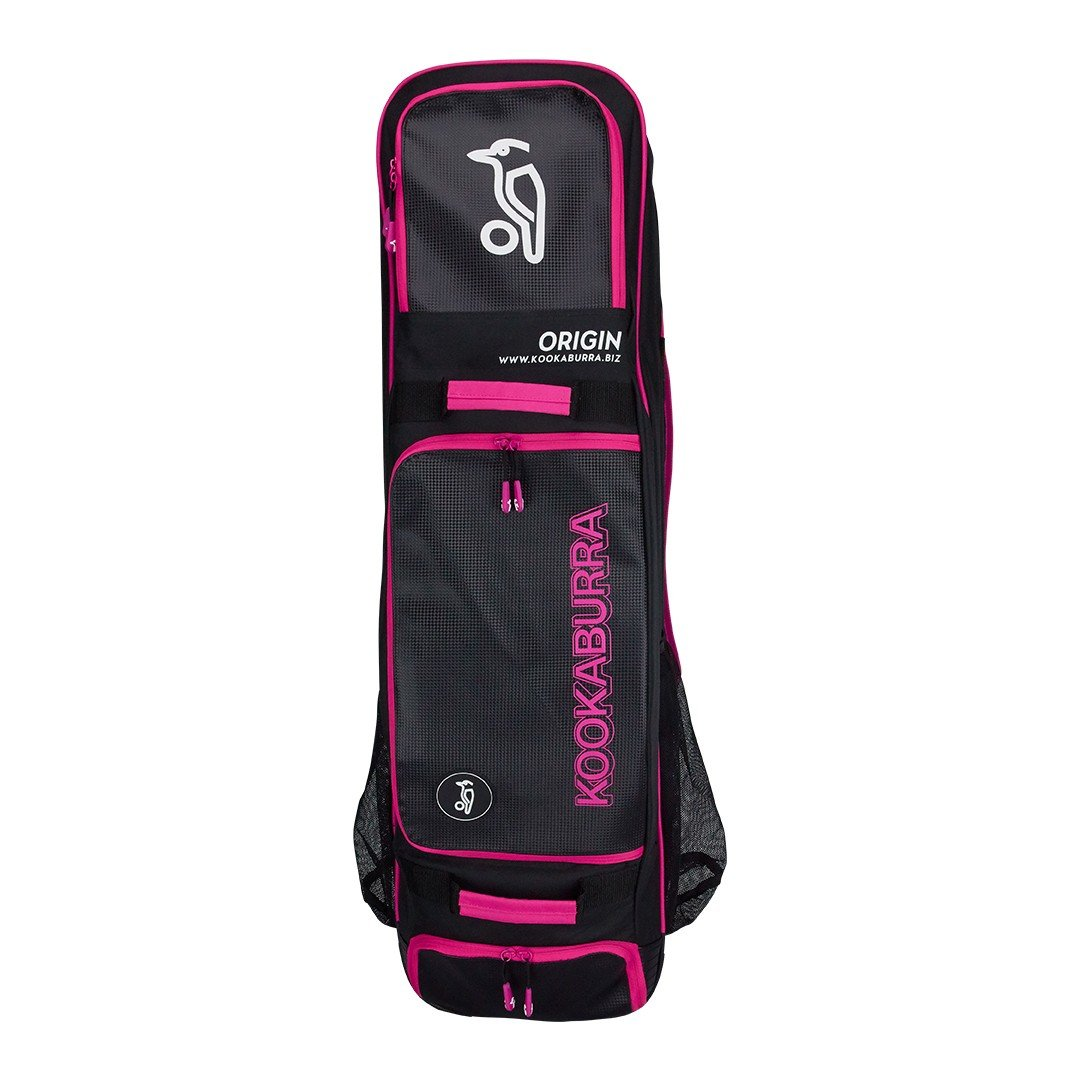 Kookaburra Origin Hockey Stick/Kit Bag (2017/18) - Black/Pink