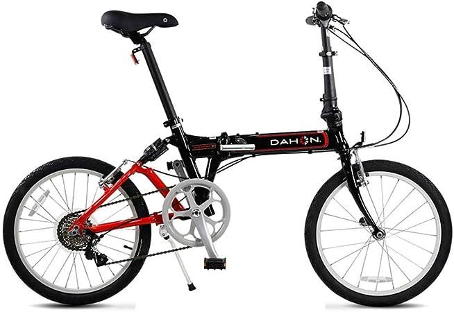 Paseo Bicicleta Bicicleta De Aluminio Plegable Cambio Ultraligero Hombres Y Mujeres Adultos Bicicleta Amortiguador De Bicicletas, Cambio De 7 Velocidades (Color : Black, Size : 115 * 27 * 59cm): Amazon.es: Hogar