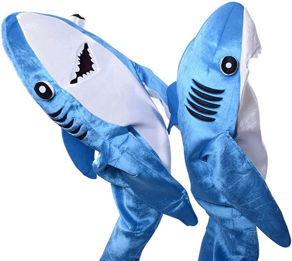 Dxlta Disfraz de Cosplay para adulto niños - Shark Stage Clothing ...