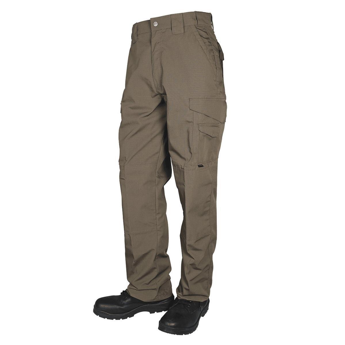 TRU-SPEC Men's 24/7 Tactical Pants, Earth, 28 X 30