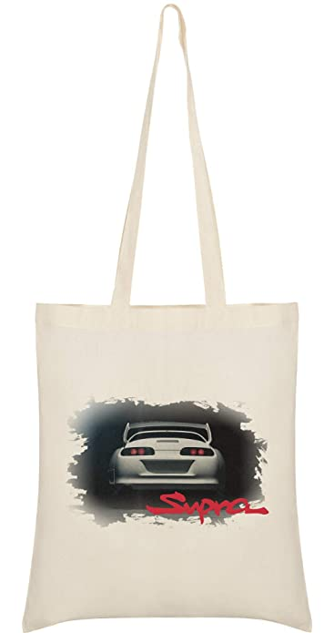 Benefitclothing supra skyline nissan mens bolso tuned toyota supra jdm legends turbo petrol monsters tote bag