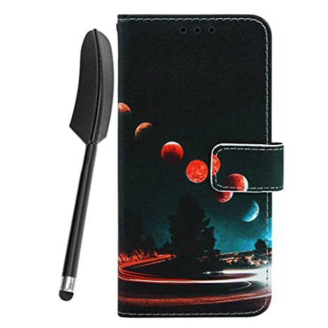 Funda para Samsung Galaxy S9, Carcasa Cuero Billetera Piel ...