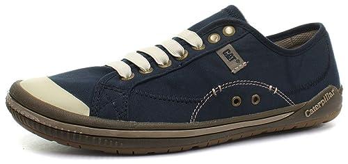 Caterpillar - Mocasines de lona para hombre azul midnight, color azul, talla 42: Amazon.es: Zapatos y complementos