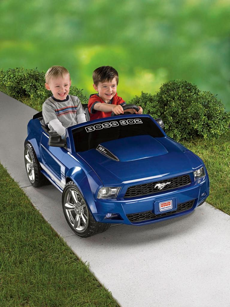 Ford Toys For Boys : Kids boys toddler power wheels ford mustang volt