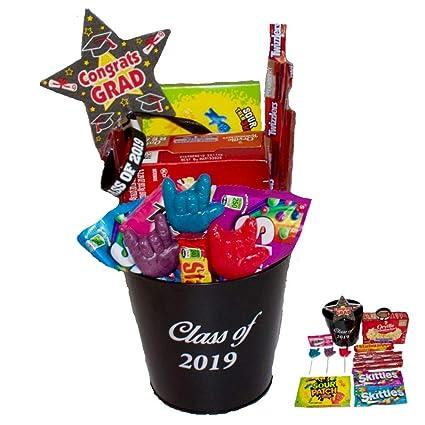 Clase de 2019 cesta de regalo de graduación Snack Bundle con ...