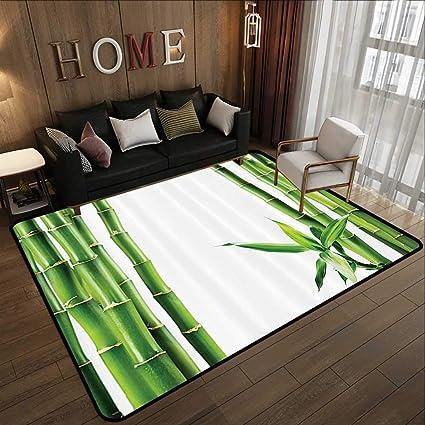 Incredible Carpet Flooringasian Branches Of Bamboo Board Stalk Tropics Plants Greenery Feng Shui Natural Lush Image Green White 35X 59 Home Bedroom Floor Mats Download Free Architecture Designs Saprecsunscenecom