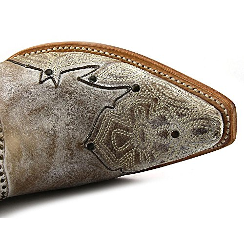 Lucchese Damen M4976 Damen Lucchese Beige Cowboystiefel 875ERvWwq