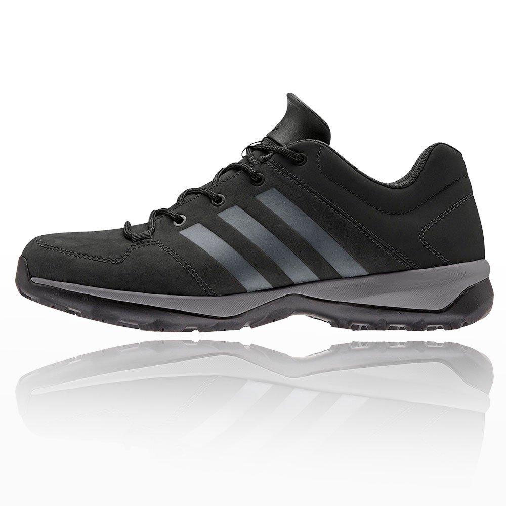 Adidas Daroga Plus Lea - Botas de montaña para Hombre 46 EU Negro (Core Black/Granite/Core Black)