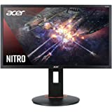 "Acer Nitro XFA240Q Sbiipr 23.6"" FHD (1920 x 1080) Gaming Monitor with AMD Radeon FreeSync Technology, 1ms (G to G), Up…"