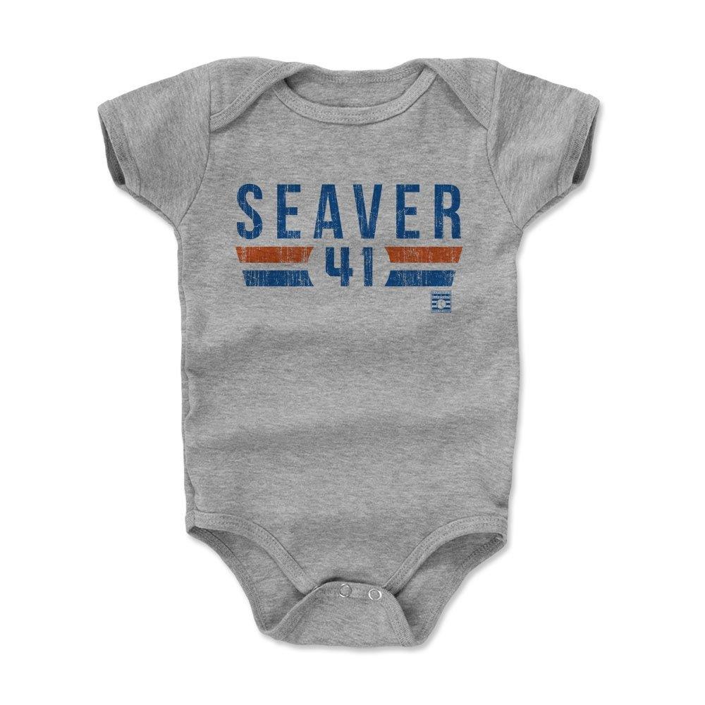 【税込】 500レベルのTom Baby Seaver Months Infant & B072SC8TZ4 Baby Onesieロンパース – 新しいYork野球ファンギア野球の殿堂の公式ライセンス – Tom SeaverフォントB B072SC8TZ4 ヘザーグレー 18 - 24 Months, 丸島商事 インターネット事業部:8a7981d2 --- svecha37.ru