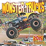 Monster Trucks 2015: 16-Month Calendar, including September through December 2014
