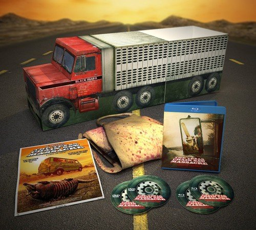 Texas Chain Saw Massacre: 40th Anniversary Black Maria [Blu-ray]