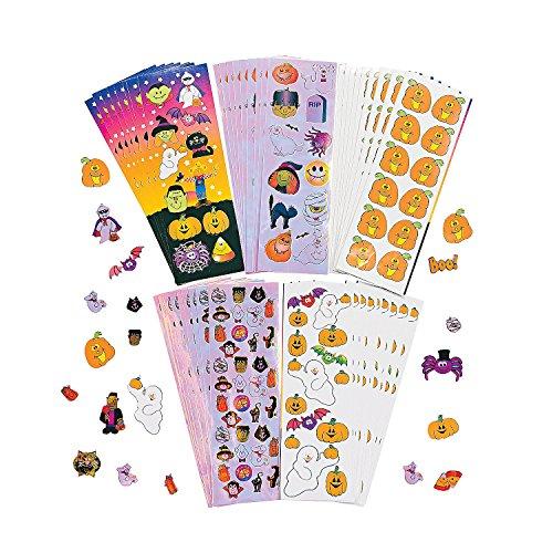 Halloween Sticker Assortment (Oriental Trading Halloween Stickers)