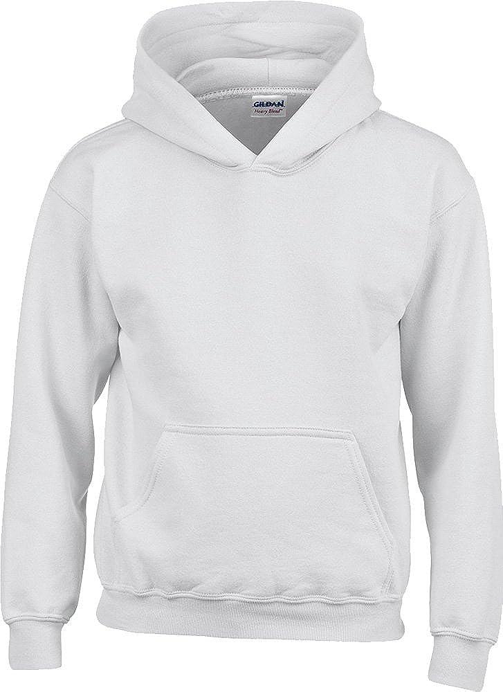 Gildan Heavy Blend Kinder Kapuzen Sweatshirt M/ädchen Winter Warm Kids Hoodies