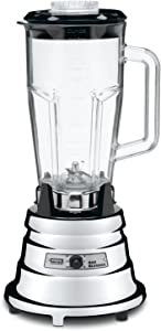 Waring Commercial BB900P 1/2 HP Chrome Bar Blender with 48-Ounce BPA-Free Copolyester Container