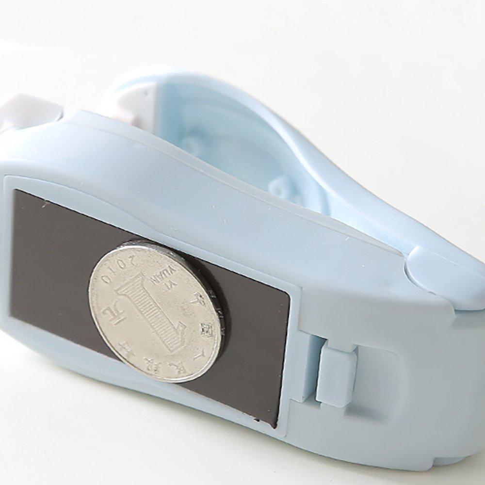 Mini Handheld Heat Sealing Machine Portable Package Resealer Impulse Sealer Seal Plastic Bag for Snack Bags Food Storage (Blue) by Codiak-Organizers (Image #4)