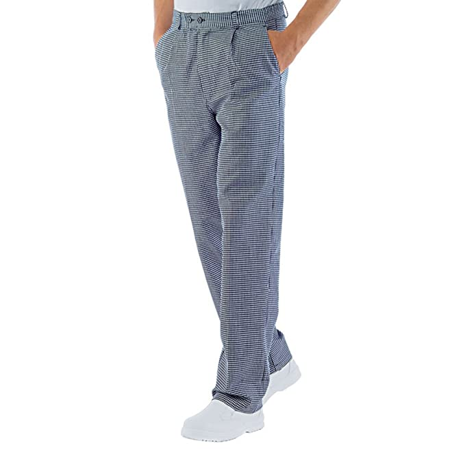 Pantalone sale e pepe da cuoco chef ristorante pub pizzeria made in italy   Amazon.it  Sport e tempo libero 444b27fcc2ee