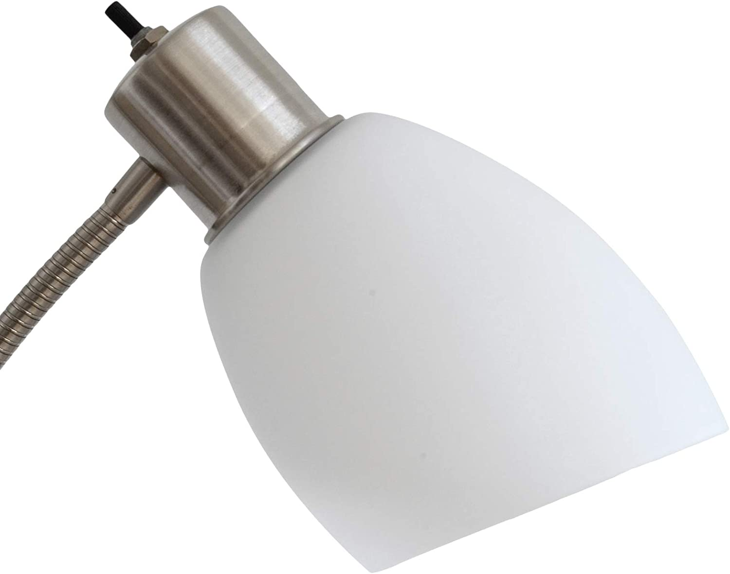 Room Basics Modern Frosted Glass Shade Replacement for Floor Lamps Wall Lamps Table Lamps Vanity Lights Replace Your Plastic Covers//Shades. Chandeliers