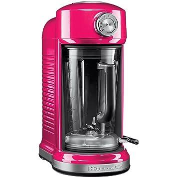 KitchenAid 5KSB5080 Batidora de vaso 1.8L 1500W Rosa - Licuadora (1,8 L, 700 RPM, 20000 RPM, Batidora de vaso, Rosa, Acero inoxidable): Amazon.es: Hogar