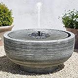 TekHome Solar Birdbath Fountain.