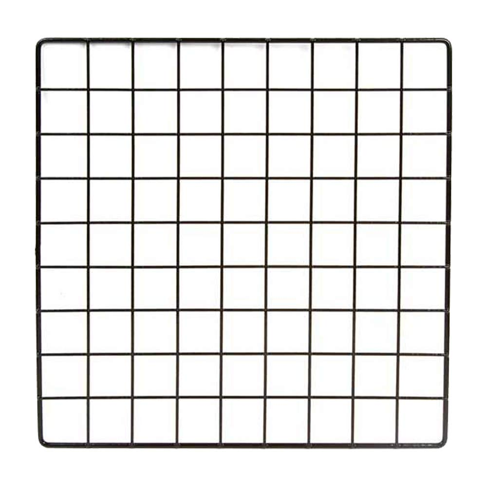 All Things Bunnies Wire Grid Small Pet Playpen - Build Your Own (Black)
