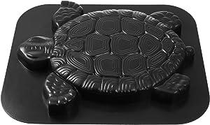 Happyyami Turtle Shape Walkway Brick Mould Path Maker Mold DIY Floor Mold Stepping Stone Mold for Garden Yard Sidewalk Square
