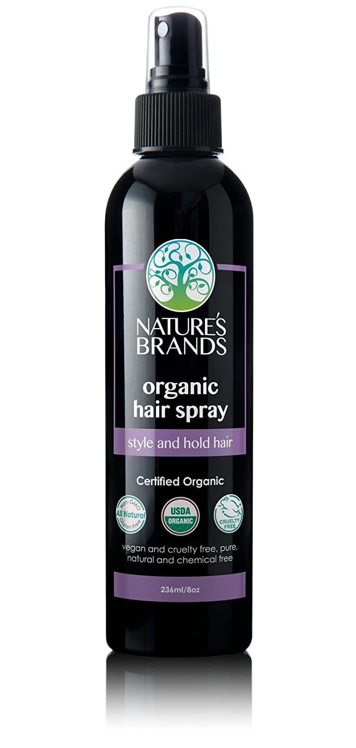 Organic Hair Spray by Herbal Choice Mari; 8 Fl Oz