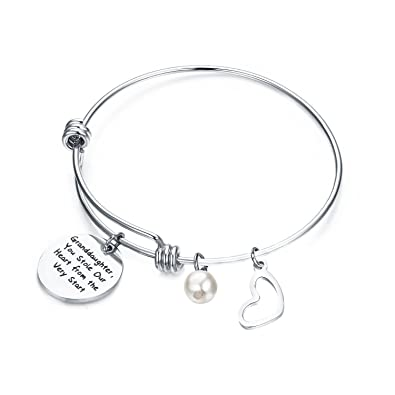 amazon zuo bao granddaughter jewelry gift for her you stole our Our Daily Bread zuo bao granddaughter jewelry gift for her you stole our heart from the very start bracelet