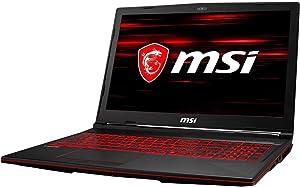 "MSI GL63 8RE-629 15.6"" FHD IPS GTX 1060 6 GB VRAM i7-8750H 16 GB Memory 128 GB SSD + 1 TB HDD Windows 10 Home Gaming Lap (Renewed)"