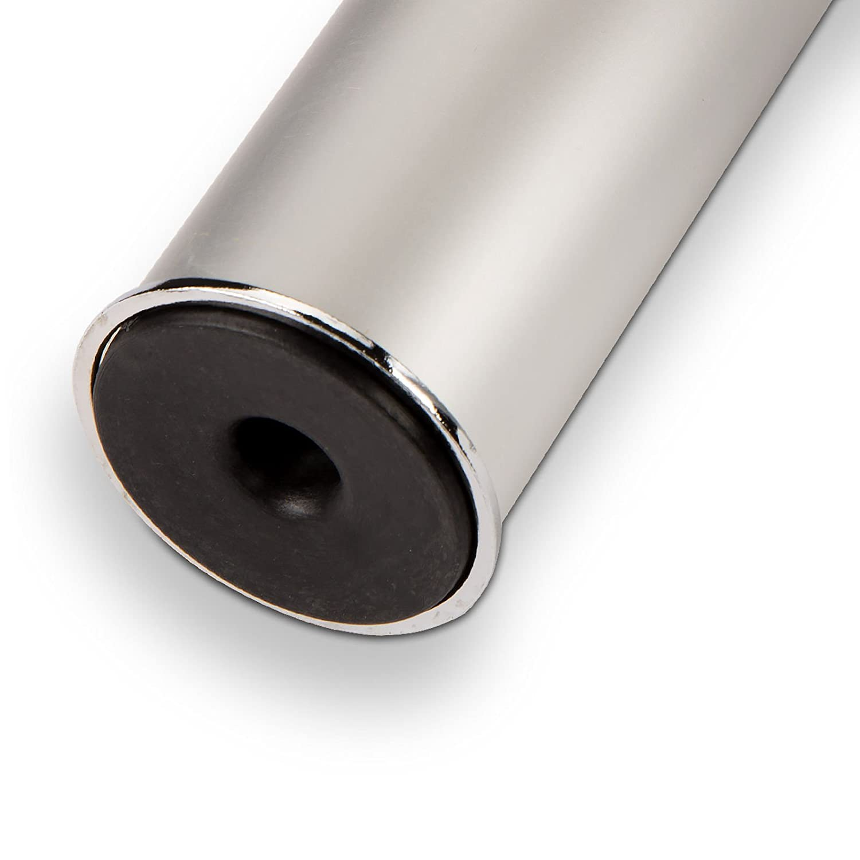 M/öbelfu/ß Aluminium Fu/ß H/öhenverstellbar 100 mm Silber /Ø 50 mm 1A Qualit/ät zum besten Preis von SO-TECH