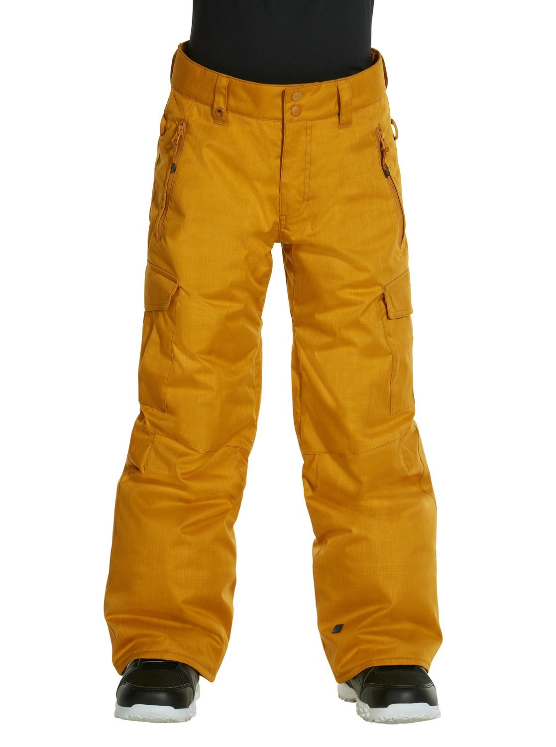 Quiksilver Big Boys' Porter Youth Snow Pant, Sudan Brown, Small/10