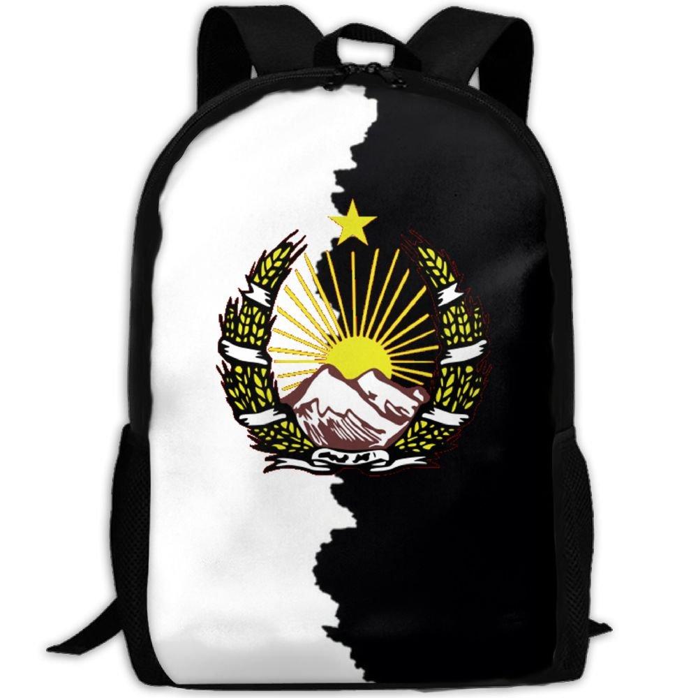 on sale Kuswaq COA Based On Flag Of Afghanistan Unisex Fashion Hiking Gym Bag Daypack Travel Shoulder Bag