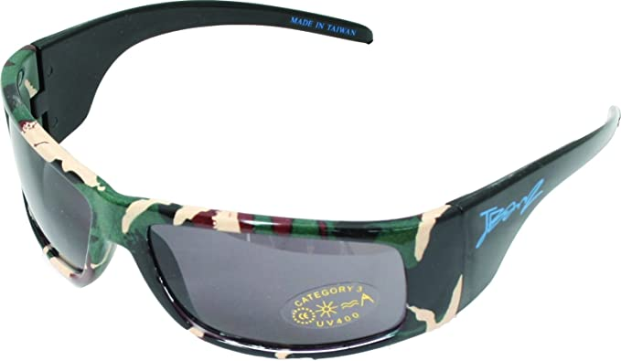BanZ - Gafas de sol para niños (de 6 a 10 años, camuflaje ...