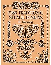 2,286 Traditional Stencil Designs