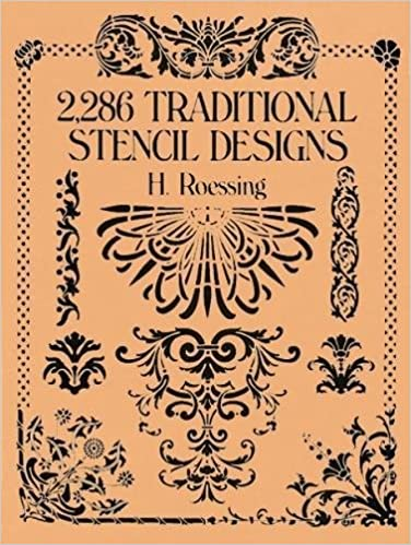 amazon 2 286 traditional stencil designs dover pictorial archive