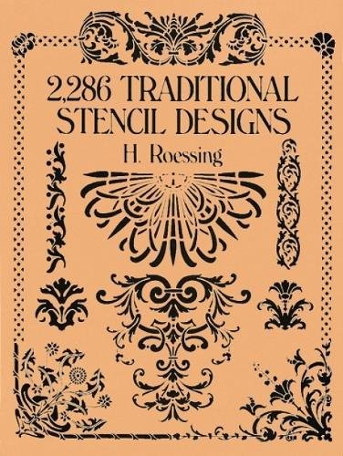 2,286 Traditional Stencil Designs (Dover Pictorial (Floral Embroidery Design)