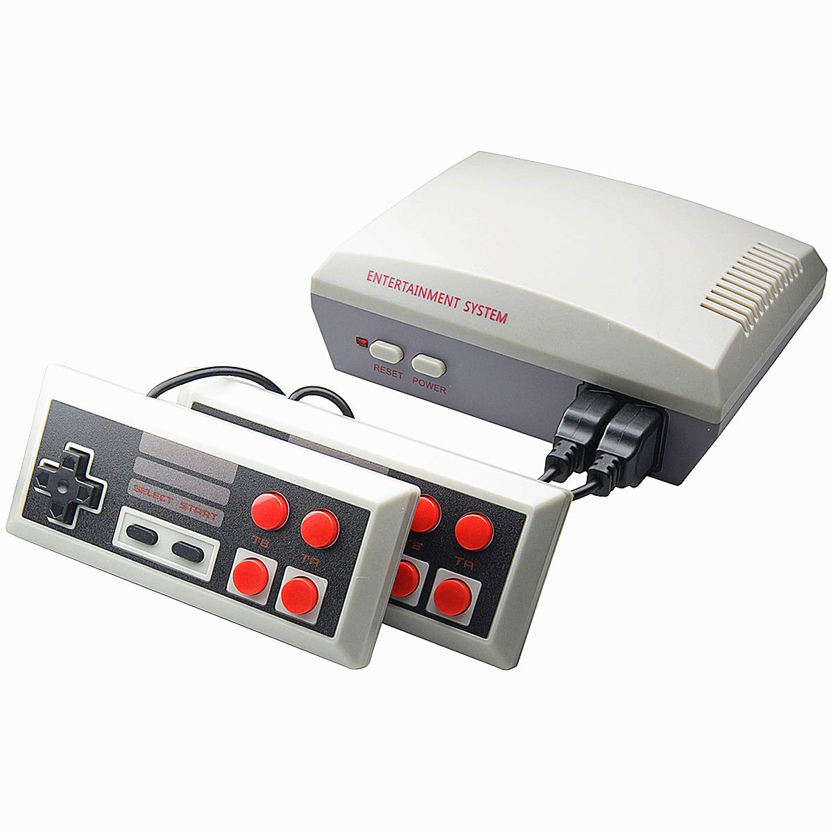 EVVE Classic Game Console Video Games - Retro 8 bit Out Support Connecting TV, Built in 256 Classic Games,Adult & Children Gifts