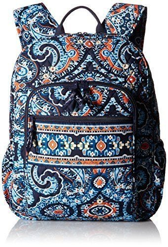 72318411e07b Amazon.com  Vera Bradley Campus Backpack - Marrakesh  Computers    Accessories