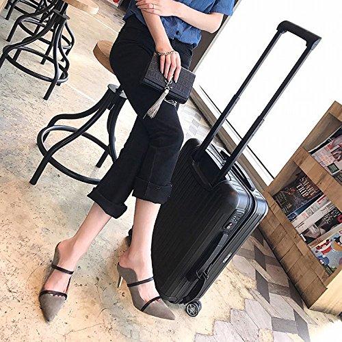 alto Bauleu Caff DHG punta Punta sandali punta con ciabattine tacco con e a xB5I6p
