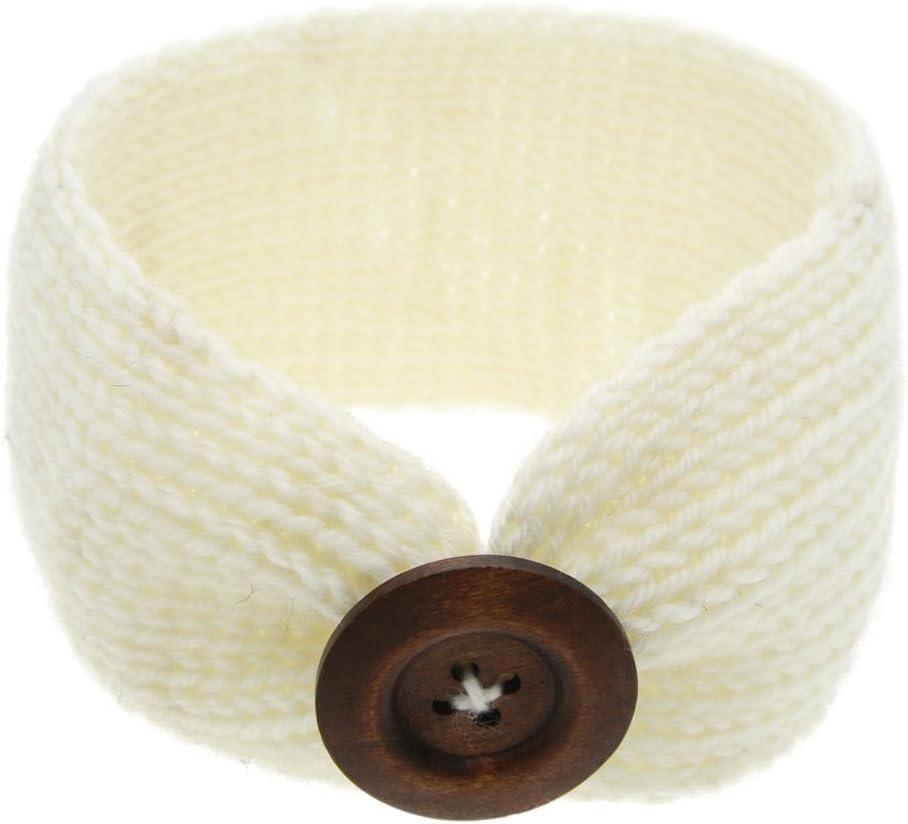 GOOTRADES Kids Baby Girl Toddler Knitting Turban Hair Band Headwear Headband Accessories from